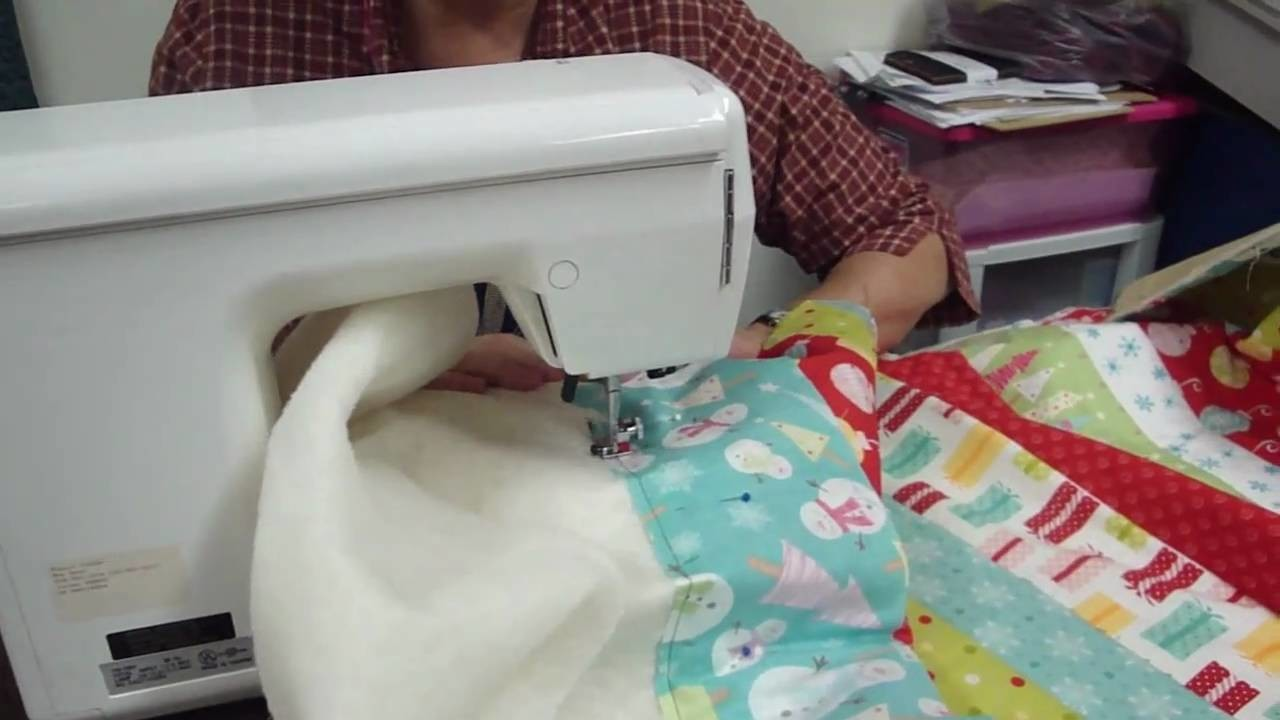 """How to """"quilt as you go""""!"""