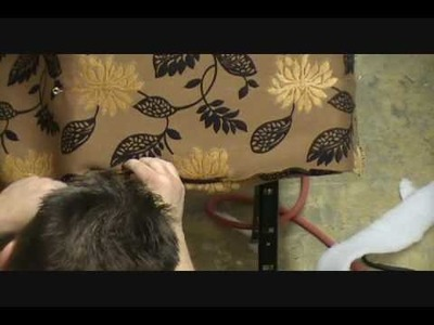 How to Upholster  a Chair Chapter  11