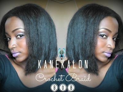 Kanekalon Crochet Braid Bob (+ Cutting & Styling Tips!)