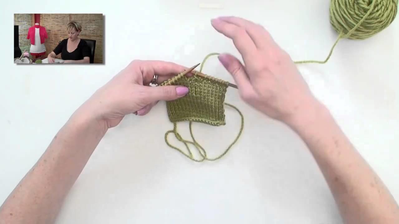Knitting Help - Buttonholes