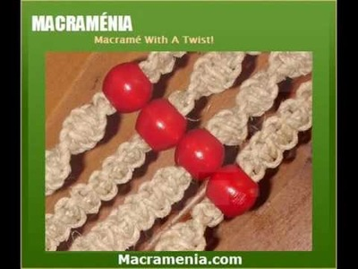 Macrame Plant Hanger - The Simplicity With Wooden Beads