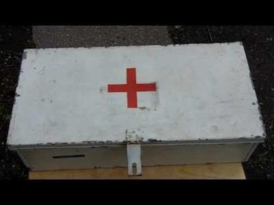 Metal First Aid Box = Craft Box!