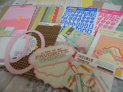 My Scrapbook Album and Supplies!