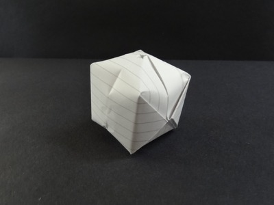 Origami Tutorial - How to fold a Waterbomb. Paper Ball