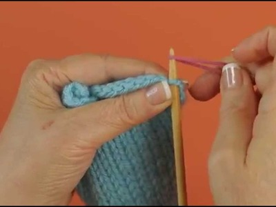 Pick Up Stitches Along Cast On or Bind Off Edge