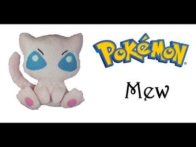 Pokemon:How To Make Mew Plushie Tutorial
