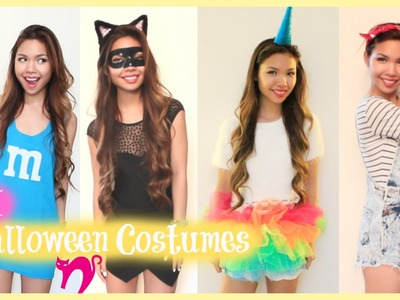 Super Easy Last Minute DIY Halloween Costumes! 2014
