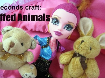 15 Seconds craft #6: Stuffed Animals for your dolls - EP