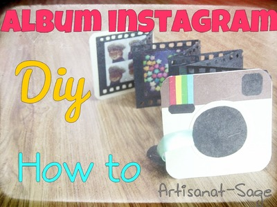 Album Instagram- DIY-How to -gift idea