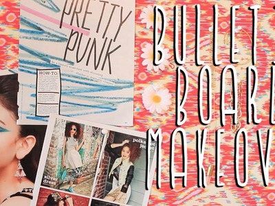 Apartment Decor DIY: Bulletin Board Makeover!