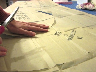 ASMR sewing pattern tissue paper, whispering and soft speaking part 2