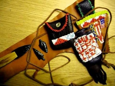 Canalino Indian Arts-Latest Beadwork, Arrowheads, and Knife Project