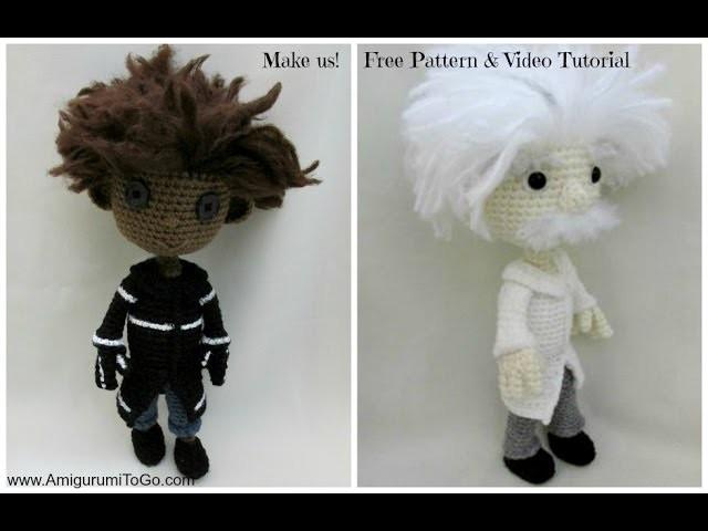 Crochet Along Wybie and Einstein