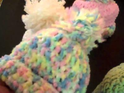 Crochet Baby Caps
