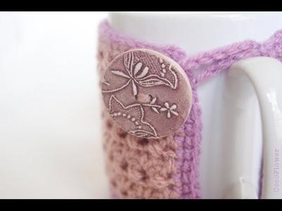 Crochet Handmade Cozy Mug Coffee By - Wool craft by CocoFlower