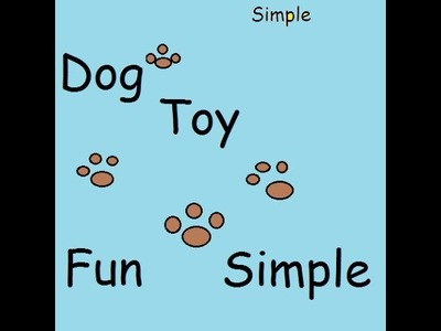 Crochet| Simple Dog Toy