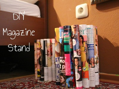 D.I. Y. Magazine Table DIY Magazine Stand