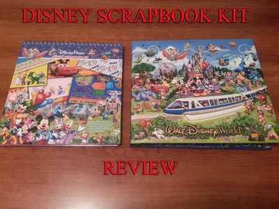 Disney Scrapbook Kit Review