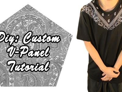 DIY: Custom V-Panel T-shirt Tutorial
