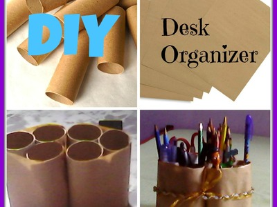 ♡DIY:Desk Organizer!♡