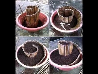 DIY garden crafts ideas