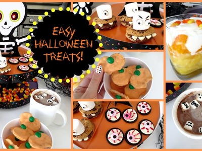 DIY Halloween Treats! Five Easy Ideas | MissJenFABULOUS