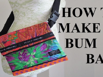DIY How to make a bumbag