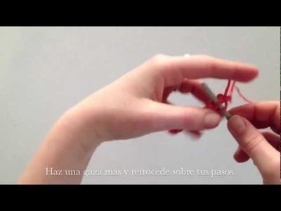 DIY knit scarf by Anna Evers Plan B (english.español)
