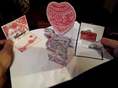 Diy : pop-up valentine's day card 2010