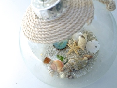 DIY  Seashell Christmas Ornament