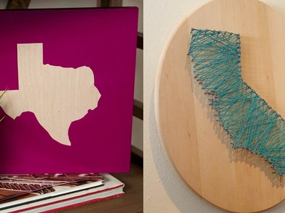 DIY State Wall Art | Glam It Yourself