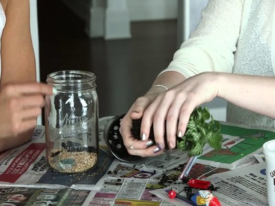DIY Terrarium Craft for Kids: Make a Gnome Garden