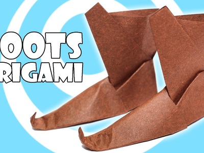 DIY: Traditional Origami Boots Tutorial
