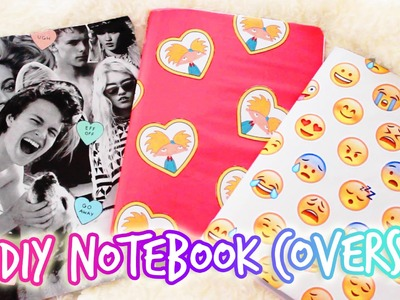 DIY Tumblr Notebook ♡ Back to School