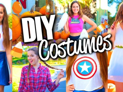 Easy & Cute DIY Halloween Costumes for Teens!