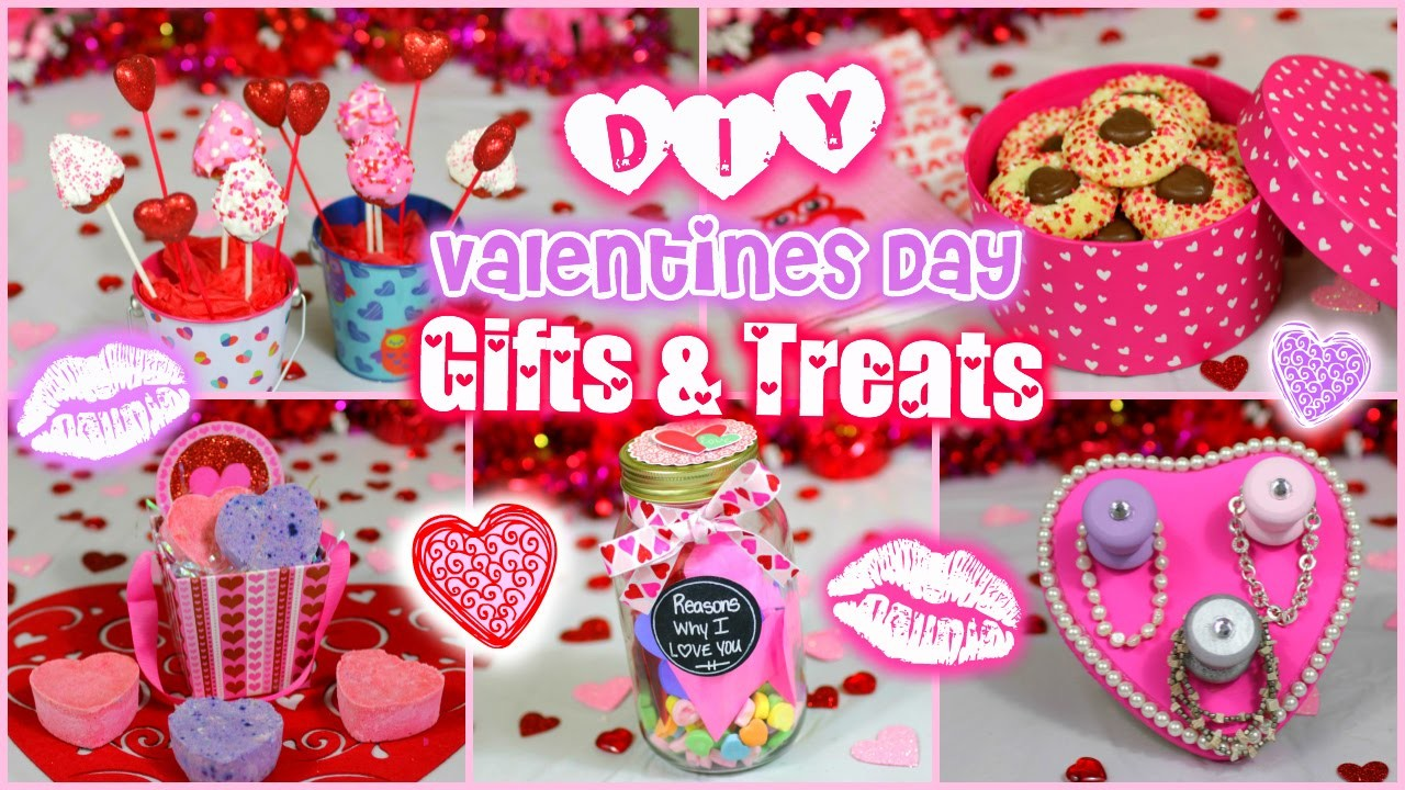 Easy DIY Valentine's Day Gift & Treat Ideas for Guys and Girls!! ❤️