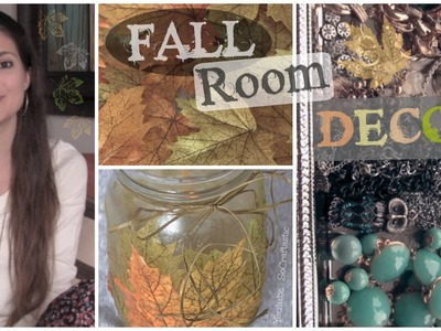 Easy FALL Room Decor DIY - Make your room cozy for cheap ♥ Autumn Decorations Inspiration