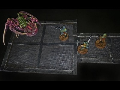 Easy simulated metal decking game tiles for Shadowrun.Steampunk(The DM's Craft, EP 74)