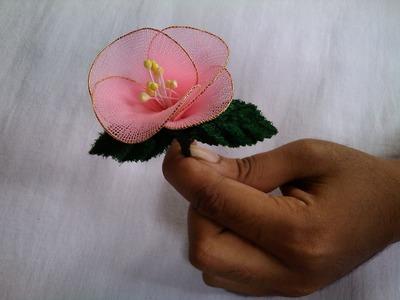 Fabric Craft Flower Making - Socks Flowers