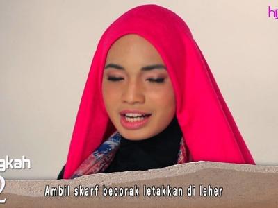 Hijabista DIY tudung: Bow-Tie