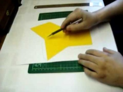 How to build a lineless papercraft model
