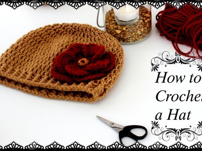 How to Crochet a Beanie Hat |HD|