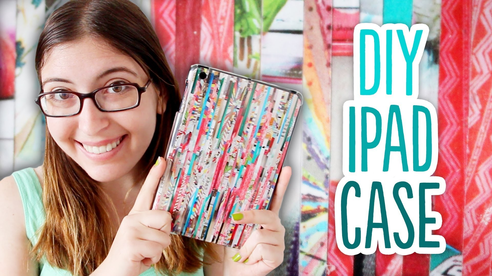 How to Make a DIY iPad Case out of Magazines
