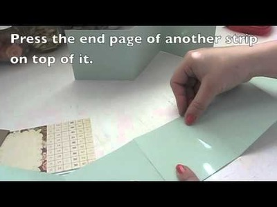 How to Make a Mini Accordion Album