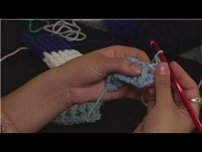 Knitting the Rib Stitch Crochet : Starting Row 3: Rib Stitch Crochet