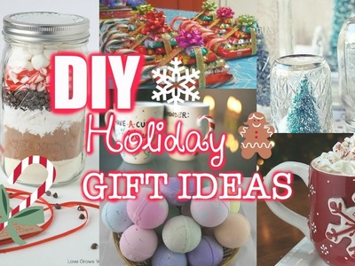 Last Minute DIY Holiday Gift Ideas!