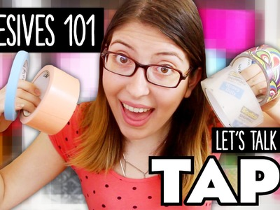 Let's Talk about TAPE ~ Adhesives 101 by @karenkavett
