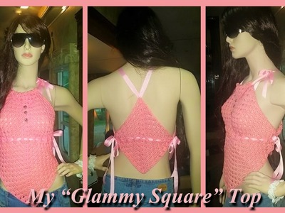 """My Super Easy Summer """"Glammy Square"""" Top"""