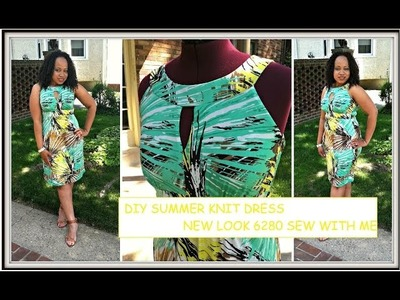 New Look 6280 DIY Summer Dress part 1