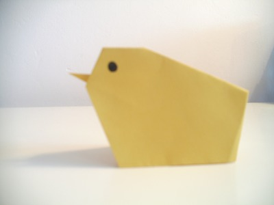 Origami Baby Chick